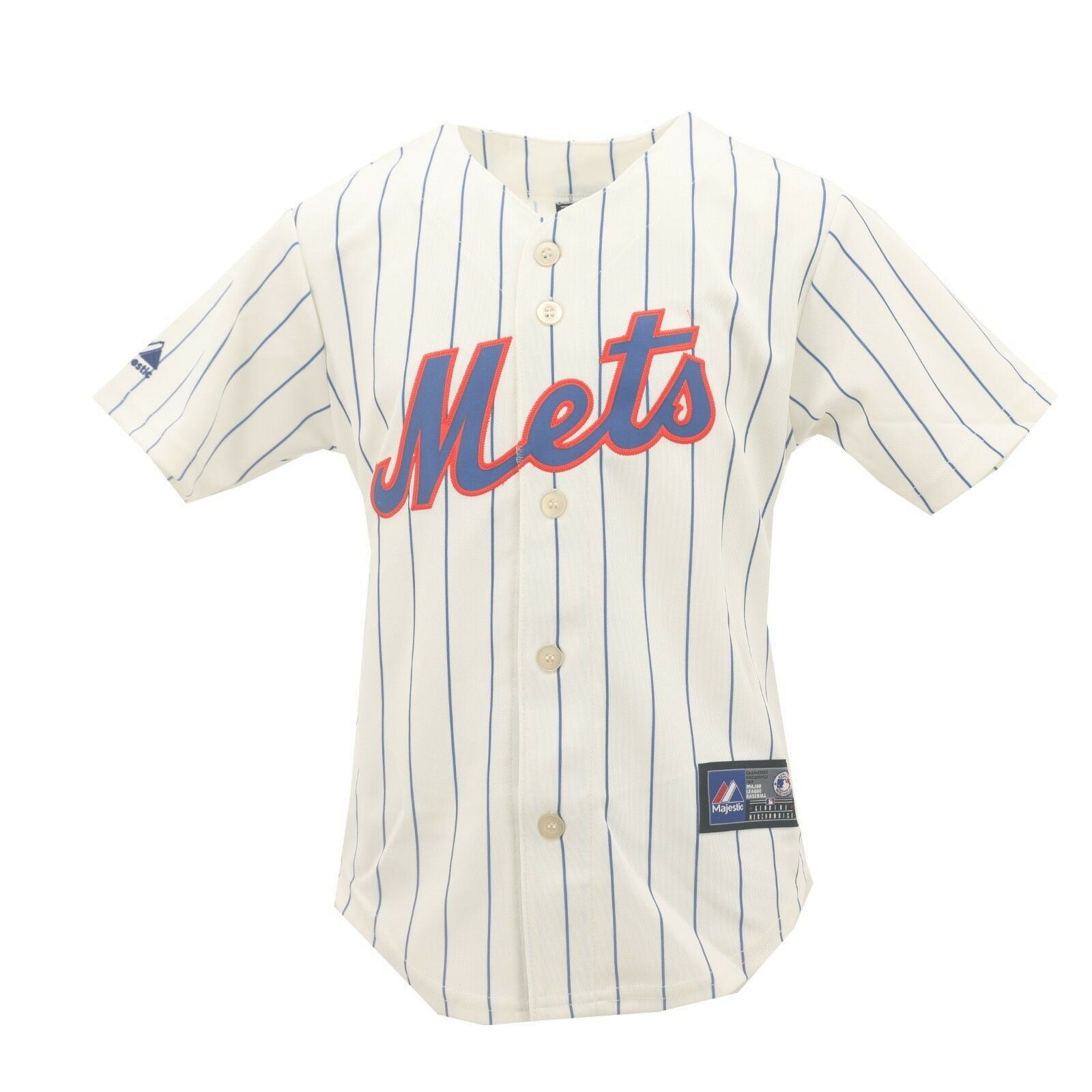 the latest de106 26d1d Details about New York Mets Genuine MLB Majestic Kids Youth Girls Size  David Wright Jersey New