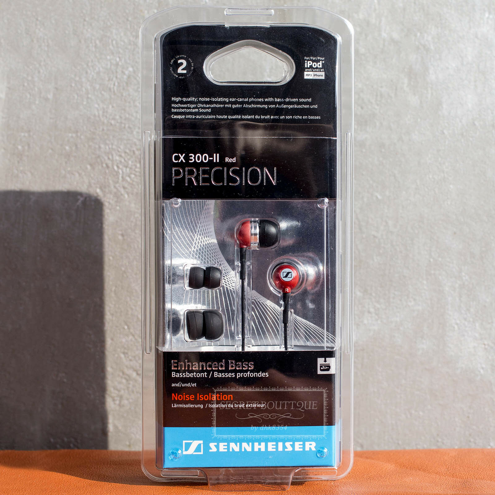 Ean 4044155043020 Sennheiser Cx 300 Ii Precision In Ear Only Earphone Sport Product Image For Headphones