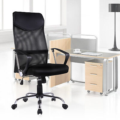 Ergonomic Mesh High Back Executive Computer Desk Swivel Office Chair Armrest