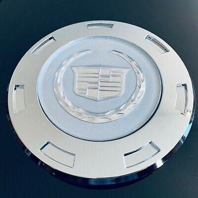 "One Wheel Center Hub Cap for 07-15 Cadillac Escalade 22"" Wheels Only Plain Crest"