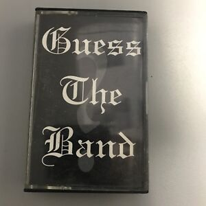 Guess The Band cassette tape