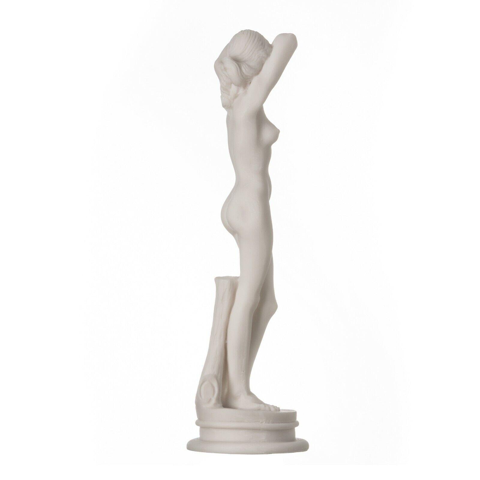 Alabaster sculpture slender nude