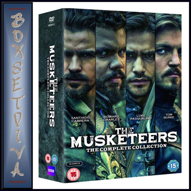 THE MUSKETEERS - COMPLETE COLLECTION - SEASONS 1 2 & 3  *BRAND NEW DVD BOXSET***