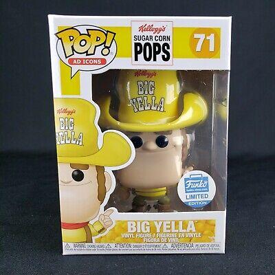 Big Yella 71 Sugar Corn Pops Funko Shop Exclusive Pop Vinyl Figure Ad Icons