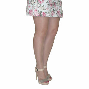 Essexee-Legs-Plus-Size-Open-Toe-Tights-10-Denier-Natural-87-Nylon-13-Elastane