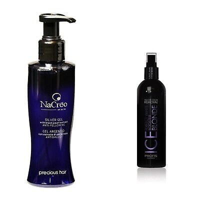 ilber Spray Haarspray+ Haargel Conditioner Shampoo Maske (Gelbes Haar Spray)