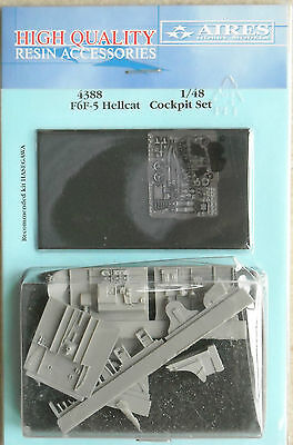 Aires 1/48 4388 F6F-5 Hellcat Cockpit Set for Hasegawa Kit