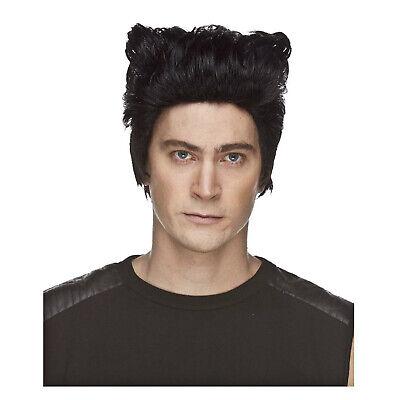 Adult Men's Wolf Man Wolverine Black Superhero Halloween Cosplay Costume - Wolf Wig