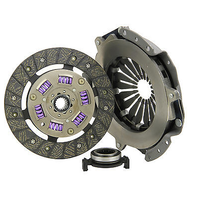 CITROEN SAXO PEUGEOT 106 & 206 1.1/1.4 BRANDED 3 PIECE CLUTCH KIT INC BEARING