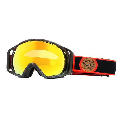 10db643bfdbd Bolle Ski Goggles Gravity 21458 Black   Red Splatter Fire Orange