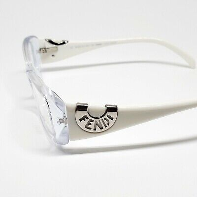 Fendi Optical RX Eyeglasses - 847 / 971 - Clear / White | 51-16-135