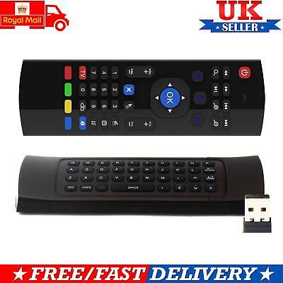 Fly Air 2.4GHz Mouse Wireless Keyboard Remote For PC Smart Android TV Box MX3 M8