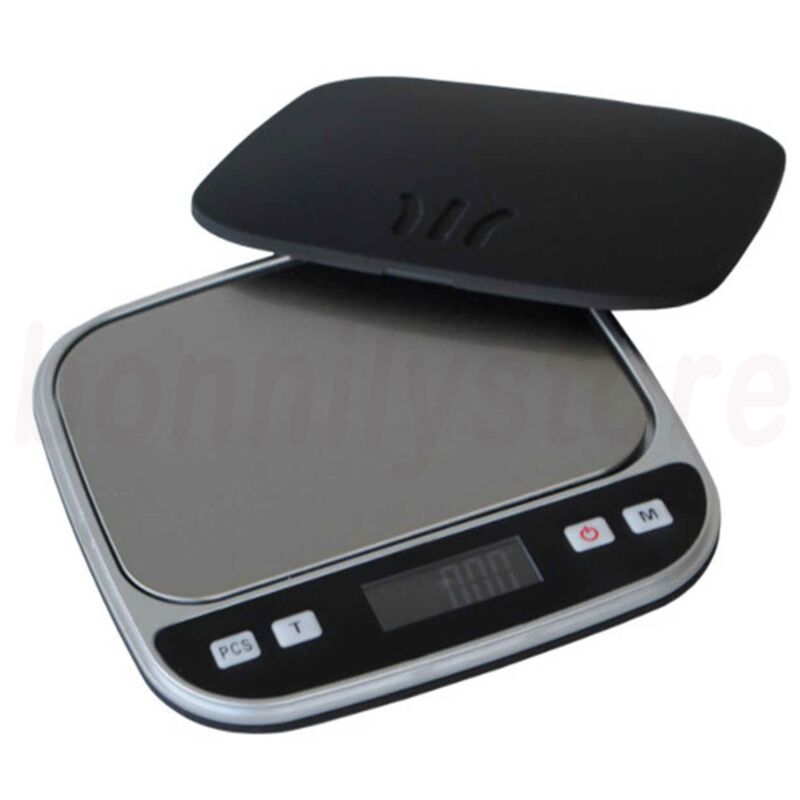 Digital Scale 500g x 0.01g Jewelry Pocket Gram Gold Silver Coin Precise NEW