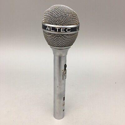 Altec Lansing 650 Vintage Dynamic Cardioid Pro Audio Microphone - Fast Ship B36