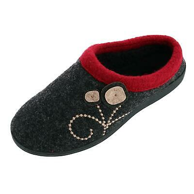 New Acorn Women's Boiled Wool Dara Mule Slipper