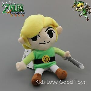New Phantom Hourglass Link The Legend of  Zelda Plush Doll Toy Figure 7