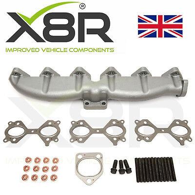 For BMW Cast Iron Exhaust Manifold E46 E39 E60 E61 E38 E65 E83 E53 3 5 7 X3 X5