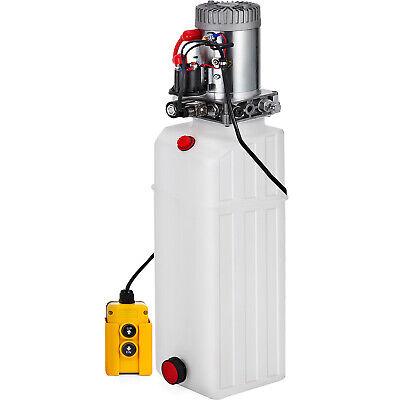 13 Quart Single Acting Hydraulic Pump Dump Trailer Power Unit Crane Unit Pack