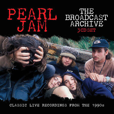 PEARL JAM New Sealed 2019 BEST OF LIVE 1990s CONCERTS 3 CD