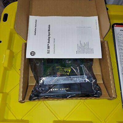 Allen Bradley Slc 500 1746-ni4 B N14 Ser B Analog Input New In Box 2007