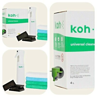 Koh Universal Cleaner Kit Bundles Add On Options Cheapest, Best Value Mop (Best Carpet Cleaner Spray)