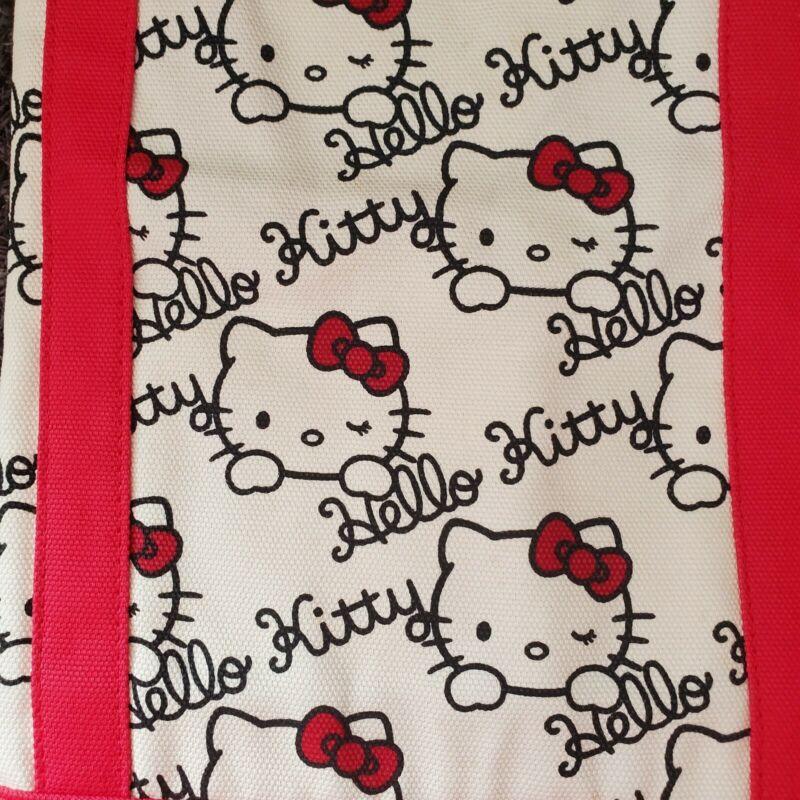 Hello Kitty Uniqlo Canvas Tote Bag Large NWT