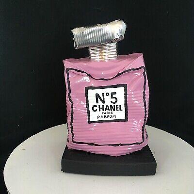 «Chanel N. 5 Pink Mini », Sculpture metal by Artist Norman Gekko