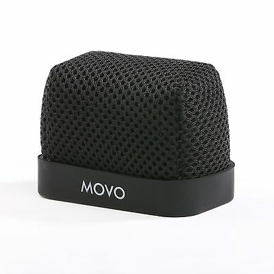 Movo Nylon Windscreen for Zoom iQ6 Tascam DR-07 Sony PCM-M10 Portable Recorders