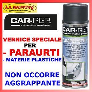 Vernice per paraurti spoiler plastica spray 400ml nero e - Vernice plastica per muri esterni ...