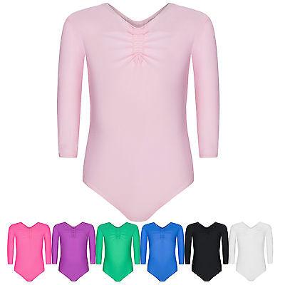 Assoluta Kinder 3/4 Ballettbody Turnanzug Kleidung Gymnsatikanzug für Mädchen ()