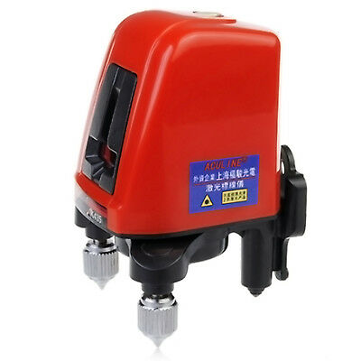 Self Levelling Cross Laser Level 2 Line Can See Outdoor Rotate 360 Degree Rotate