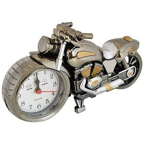 Motorbike Alarm Clock Cool Motorcycle Design Creative Home Novelty Birthday Gift