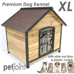 German Shepherd Dog Kennel Large Wooden Pet House Outdoor Indoor