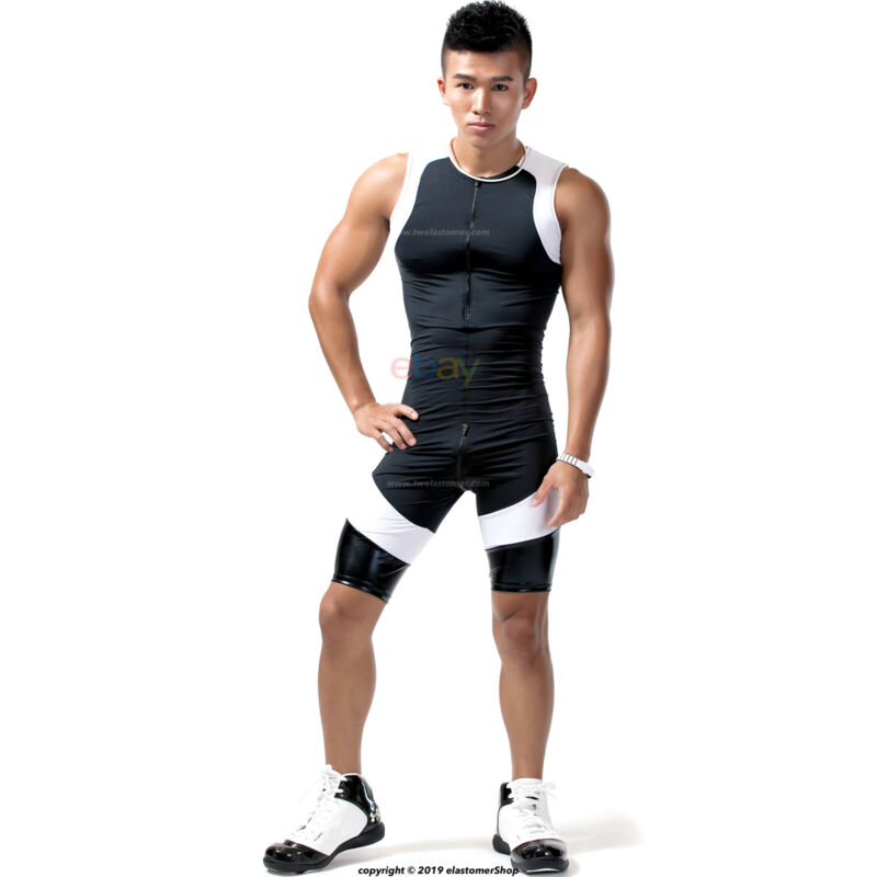Men/'s Compression Tight Base Layer Running Gym Workout Running Activewear J17