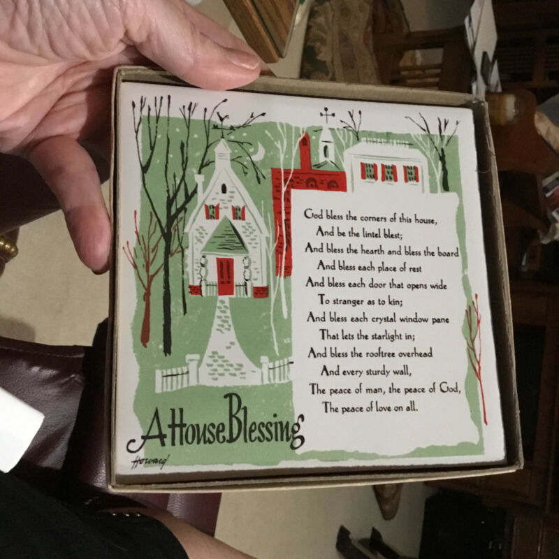 Vintage House Blessing By Holt Howard