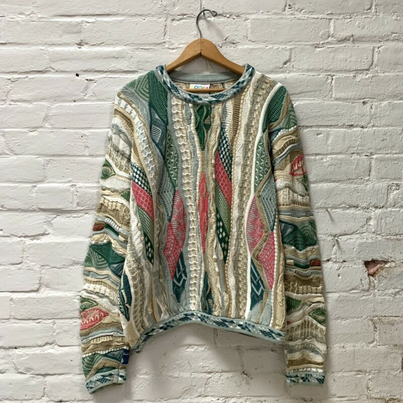 Authentic Vintage COOGI Sweater Made In Australia Sz XL