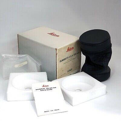 Leica Elmarit-R 1:2.8 180mm Empty box w/lens case (No Lens , Only Box)