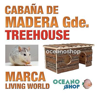 L.W. TREEHAUSE CABAÑA ROEDORES GDE