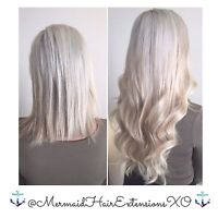 ✨LUXURY MERMAiD HAiR EXTENSiONS✨VOTED TOP BEST 15 BY NARCITY TO!