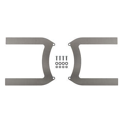 REVOTEC ELECTRIC FAN BRACKET SET PAIR 255MM MILD STEEL - RFB255MS