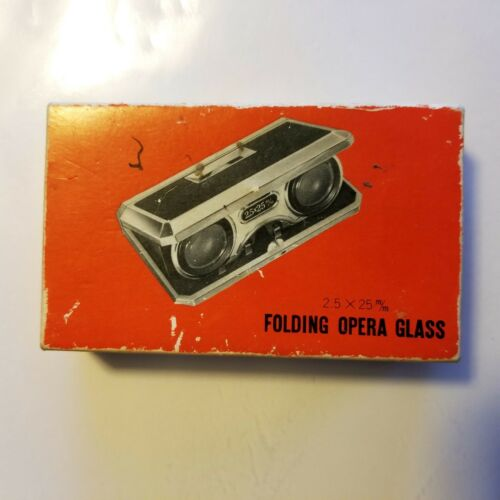 Precision Made Folding Opera Glass 2.5x25mm Made in Japan for S. S. Kresge Co