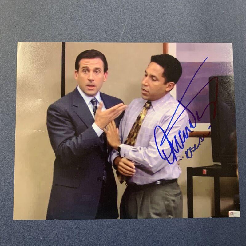 OSCAR NUNEZ HAND SIGNED 8x10 PHOTO ACTOR AUTOGRAPHED THE OFFICE SHOW RARE COA