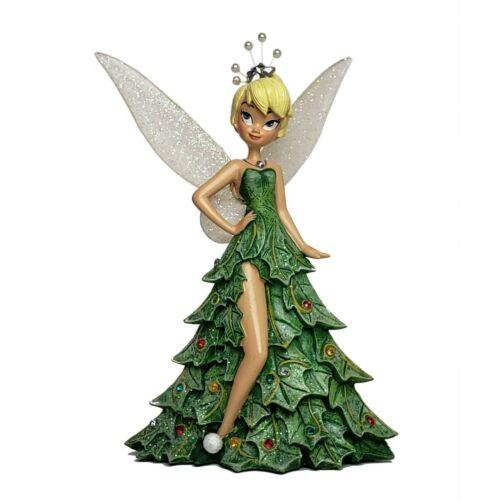"Bradford Exchange Disney Tinkerbell ""Oh Christmas Tree"" Figurine NIB"
