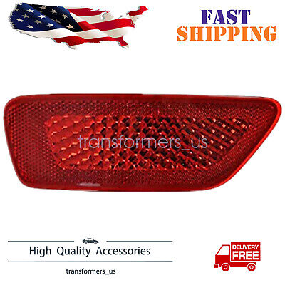For Acadia Traverse Rear Bumper Reflector Light Lamp L H Driver Side New