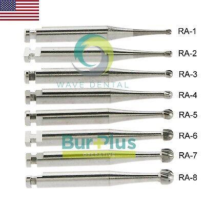 Prima Wave Dental Operative Bur Tungsten Carbide Round Latch Ra 1 2 3 4 5 6 7 8