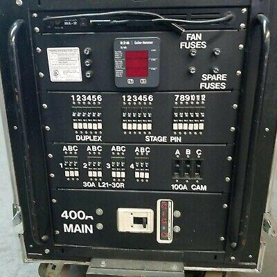 Cam Lok 400 Amp Power Distribution Multiple Outputs