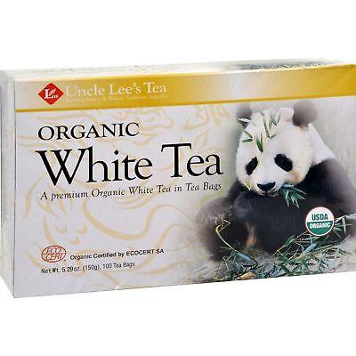 Organic White Tea 100 Bags (100% Organic White Tea)