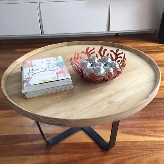 Orson & Blake 'Roger' mango wood coffee table Randwick Eastern Suburbs Preview