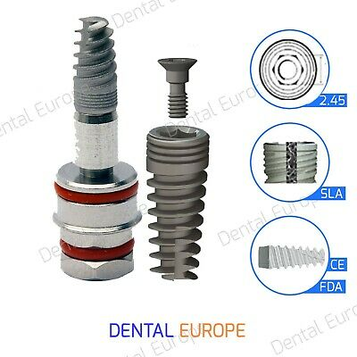 Spiral Dental Implant Sterile Ready To Use Fdaisoce Internal Hexagon System