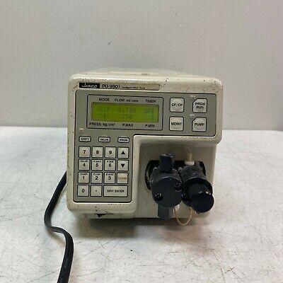 Jasco Pu-980 Hplc Pump Chromatography Liquid High Pressure Intelligent Nice